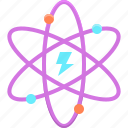 atom, electricity, energy, power
