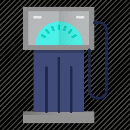 fuel, gas, oil, petrol, pump, station icon