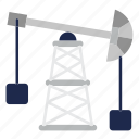 extraction, industry, manufacturing, oil, oil industry, pump, station icon