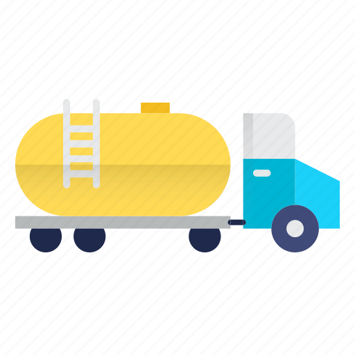 delivery, oil industry, transport, transportation, truck icon