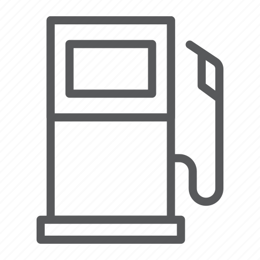 Gas, station, fuel, gasoline, petrol, pump icon - Download on Iconfinder
