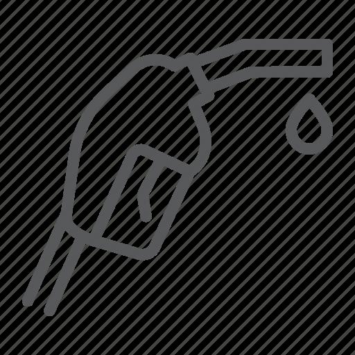Gasoline, fuel, pump, nozzle, gas, station, petrol icon - Download on Iconfinder