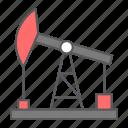 oil, pump, jack, rig, industry, fuel