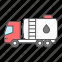 oil, tanker, truck, fuel, logistics, tank, vehicle