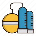 energy, gasoline, oil, petrol, power, refinery icon