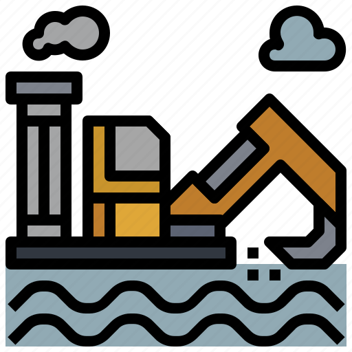 Drilling, factory, illustration, industry, oil, power, rig icon - Download on Iconfinder