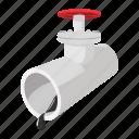 cartoon, drop, fuel, oil, pipeline, pressure, stopcock