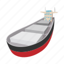 oil, business, travel, ship, tanker, cartoon, boat