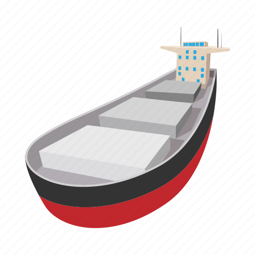 boat, business, cartoon, oil, ship, tanker, travel icon