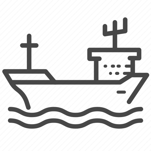 boat, crude oil, oil, ship, transport, vessel icon