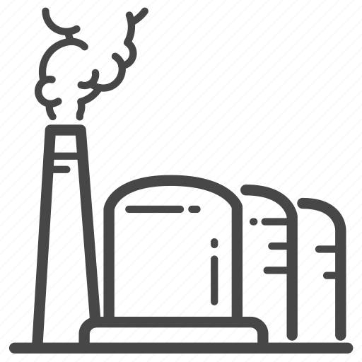 factory, fuel, industrial, oil, refinery icon