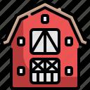 barn, farm, farming, grain, house