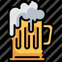 alcohol, alcoholic drink, beer, beer mug, drink