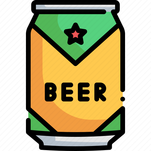 Alcohol, beer, beer can, bottle, drink icon - Download on Iconfinder