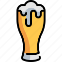 bar icons, beer, beverage, drink, glass icon
