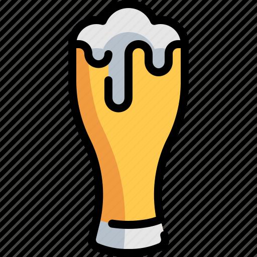 Bar icons, beer, beverage, drink, glass icon - Download on Iconfinder