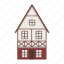 architecture, building, germany, house, national, stained glass icon