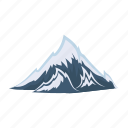 alps, mountain, top, snow, nature