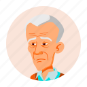asian, avatar, china, grandfather, japan, old, people icon