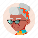 african, avatar, black, face, grandfather, old, people icon