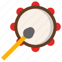 daouli drum, islamic drum, ramadan drum, ramadan kareem, tambourine icon