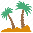 arab trees, date palm, date trees, edible palm, palm trees icon