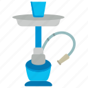 egyptian hookah, flavored tobacco, hookah, narghile, smoking tobacco, tobacco pipe icon