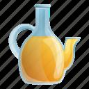 glass, oil, olive, pot, spa