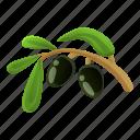 branch, business, floral, greek, hand, olive