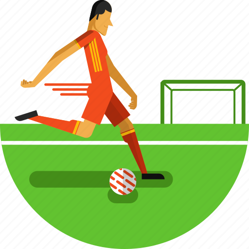 ball, field, football, football player, game, olympic sports, soccer, sports icon icon