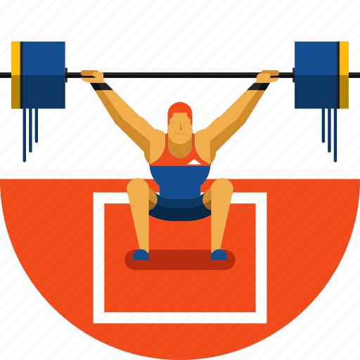 exercise, fitness, gym, olympic sports, sports icon, training, weightlifting, weights icon