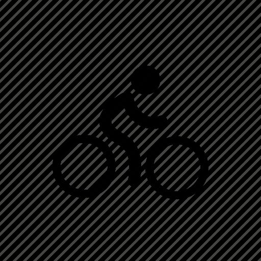 bicycle, bike, biking, cycling, racing, road, sports icon
