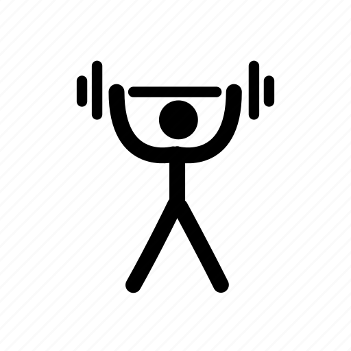 bodybuiding, exercise, fitness, gym, olympic, sports, weightlifting icon