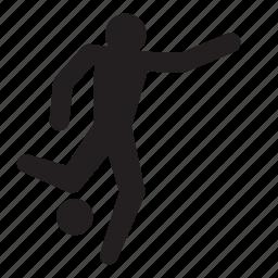 athlete, football, goal, olympics, rio2016, soccer, sports icon