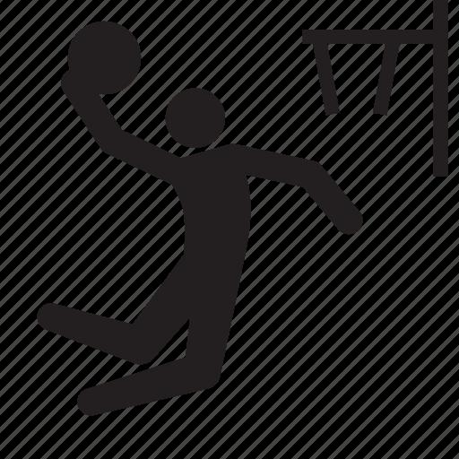 athlete, basketball, dunk, olympics, rio2016, sports icon