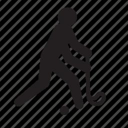 athlete, field hockey, hockey, olympics, rio2016, sports icon