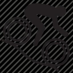 athlete, bicycle, mountain bike, olympics, rio2016, sports icon