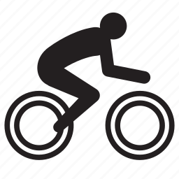 athlete, bicycle, bike, cycling, olympics, rio2016, sports icon