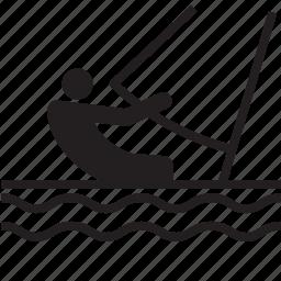 athlete, olympics, rio2016, sail, sailing, sports icon