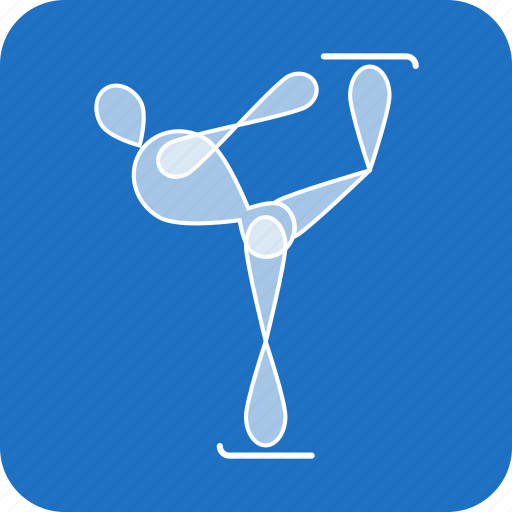 Figure, olympics, skating, sports, winter icon - Download on Iconfinder