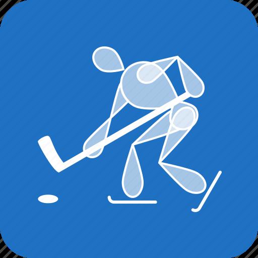 hockey, ice, nhl, olympics, sports, winter icon