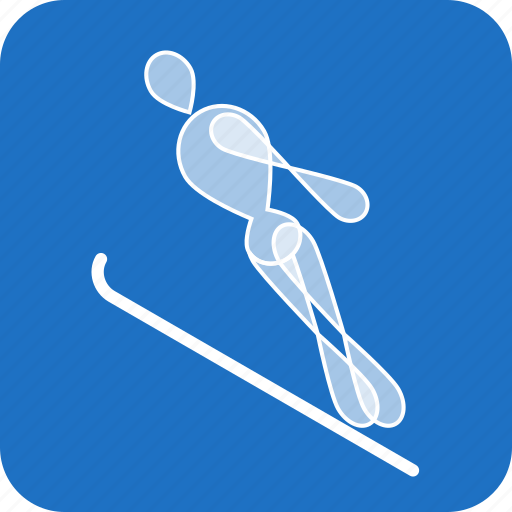 Jumping, olympics, ski, sports, winter icon - Download on Iconfinder