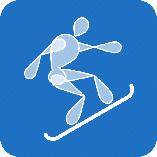 Extreme, olympics, snowboard, sports, winter icon - Download on Iconfinder