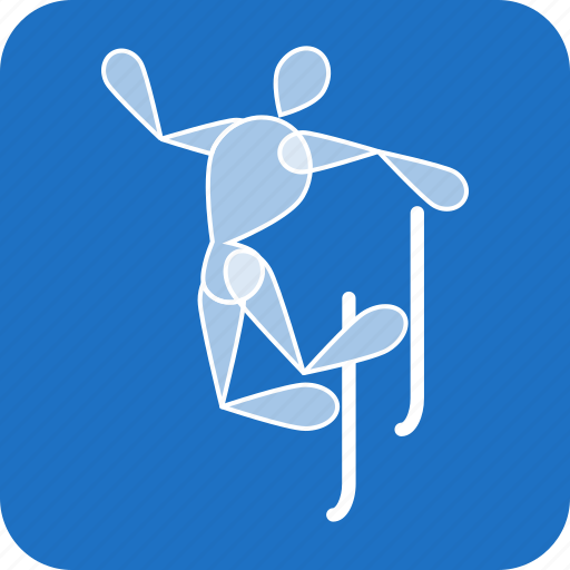 Aerials, freestyle, olympics, skiing, sports, winter icon - Download on Iconfinder