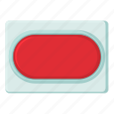 arm, cartoon, lever, off, red, switch, tumbler icon