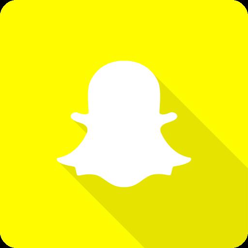 Chat, media, shadow, snap, snapchat, social, yellow icon
