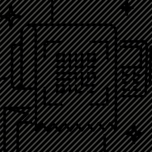 Code, coding, qr, qrcode, receipt, scan icon - Download on Iconfinder