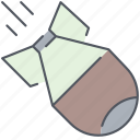 atomic, bomb, army, explosive, millitary, nuclear, weapon icon