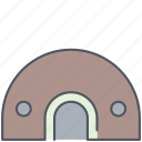 bunker, army, battle, millitary, protection, war, weapon icon