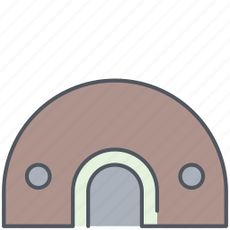 army, battle, bunker, millitary, protection, war, weapon icon